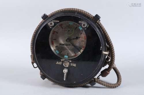 A rare early 20th Century mechanical Julius Pintsch 8-Day Mo...