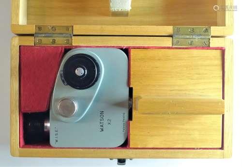 Microscope Accessories, Watson & Son image shearing eyepiece...