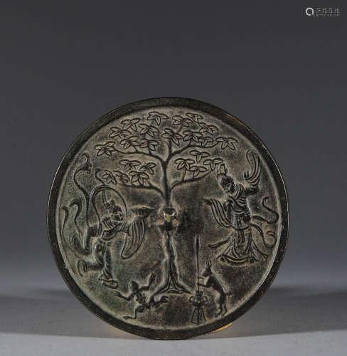 Bronze mirror in Qing Dynasty
