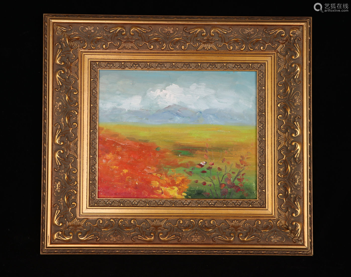 A Lin fengmian's landscape Oil Painting
