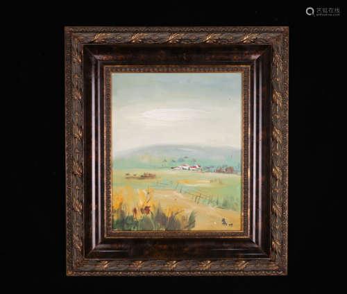 A Su tianci's landscape Oil Painting