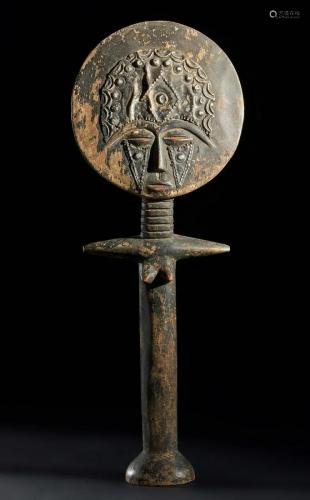 Arte africana Large Akua'ba doll, AsanteGhana.