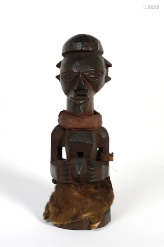 Arte africana A bronze sculptureNigeria.