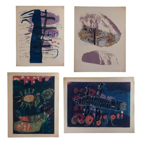 GROUP OF FOUR ESTHER MARY ART