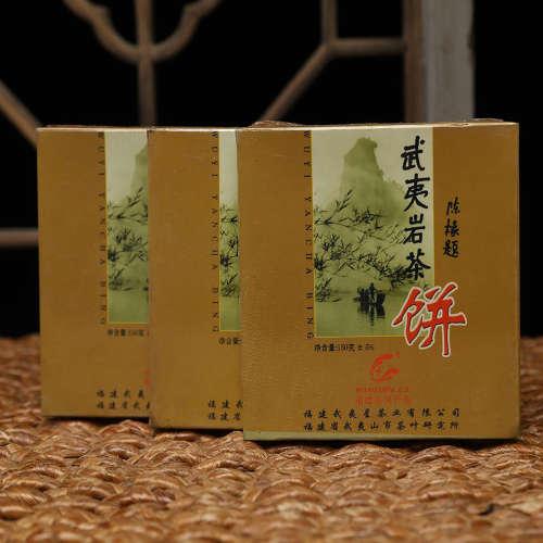 2006 原装武夷山茶科所、武夷星出品2006武夷岩茶饼三盒