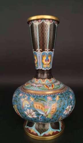 珐琅彩花瓶