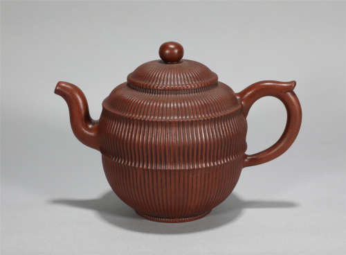Yixing Glazed Teapot Qing Style