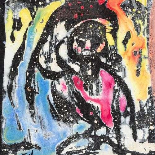 Felix VARLAMICHVILI dit VARLA (Kutaisi 1903 Paris 1986).