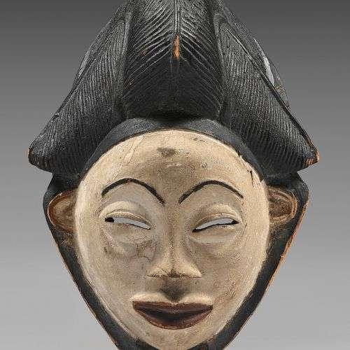 Masque Punu/Lumbo (Gabon) Masque okuyi/mukuyi clas…