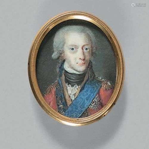 ECOLE SCANDINAVE de la fin du XVIIIe siècle