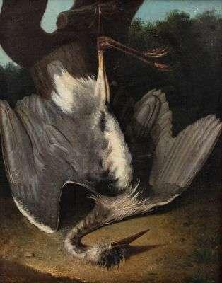Ecole ITALIENNE du NORD du XVIIIème siècle Nature morte au h...