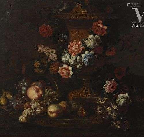 Jean-Baptiste I BLIN DE FONTENAY (1653-1715) Nature morte au...