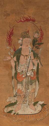 Vier Gottheiten aus der Gruppe der Jûni-ten (Zwölf Schutzgot...