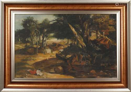 anonymous oil painting