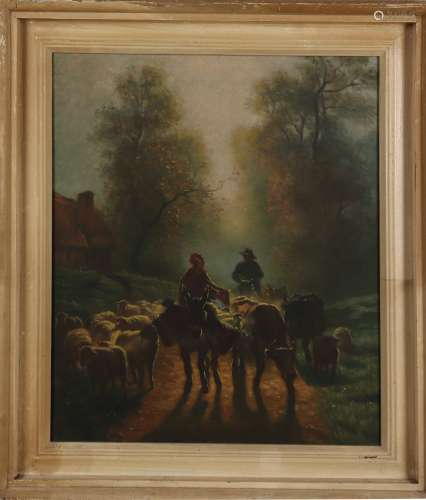 chinese wang liming's oil painting