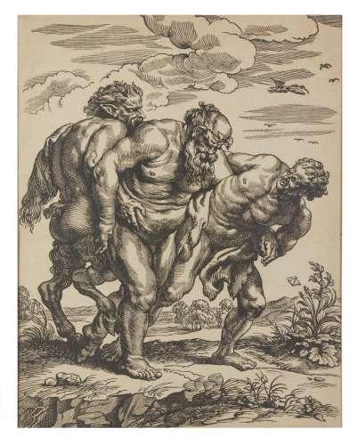 Christoffel JAEGER (c. 1596-c. 1652) Silène ivre. Vers 1652....