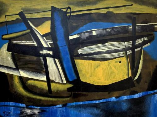 MATTIA MORENI, Canale Candiano, 1952