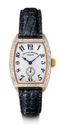 Franck Muller, très jolie montre pour femme en diamant