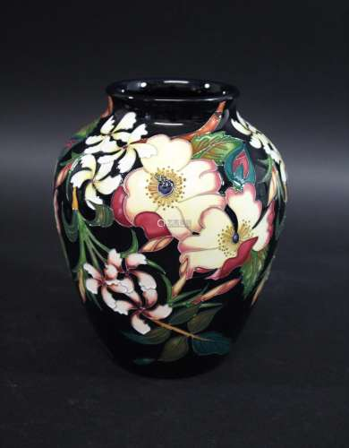 MOORCROFT LIMITED EDITION VASE - LACKME the vase designed by...