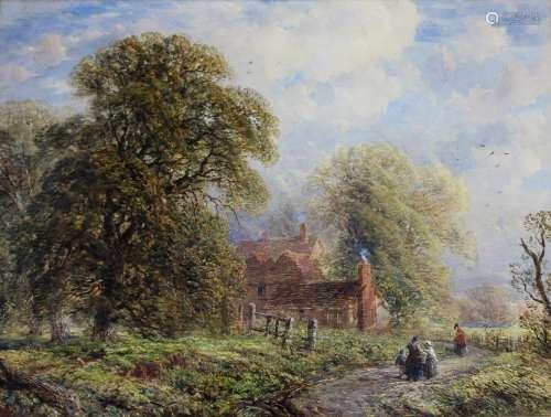 RICHARD PRATCHETT NOBLE (1814-1861) SUMMER AFTERNOON, HENDON...