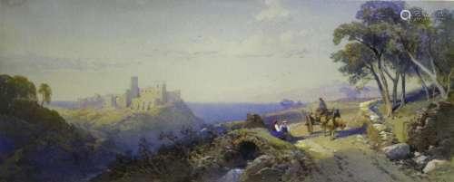 THOMAS CHARLES LEESON ROWBOTHAM (1823-1875) A COUNTRY ROAD O...