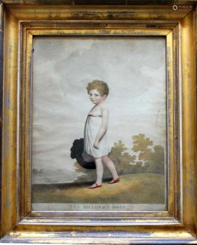 AFTER ADAM BUCK (1759-1833) THE MOTHER'S HOPE; THE FATHER'S ...