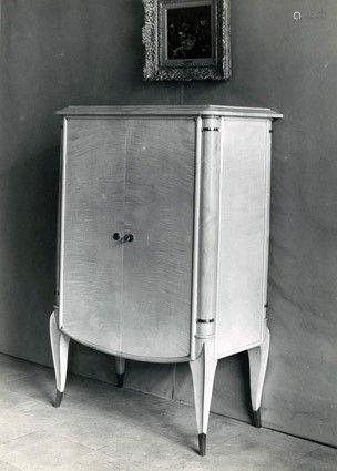 Maurice LAFFAILLE (1902 -1987) Paires d'armoires de chambre ...