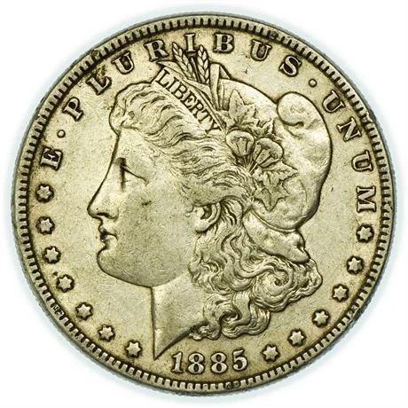 885 Morgan Dollar