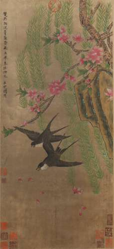 Flowers and Birds by Wang Dingguo