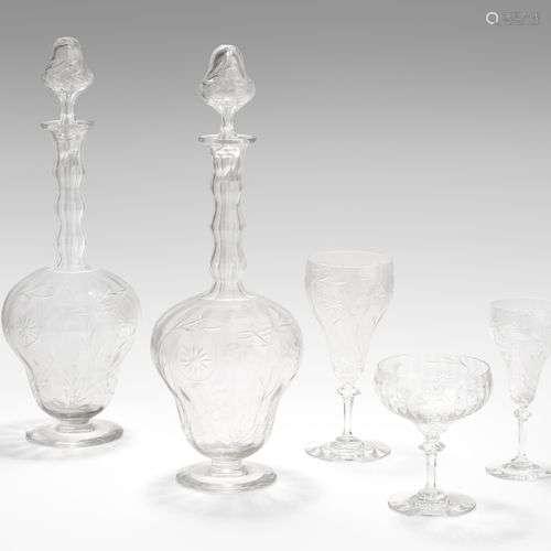 Gläserserviceteile