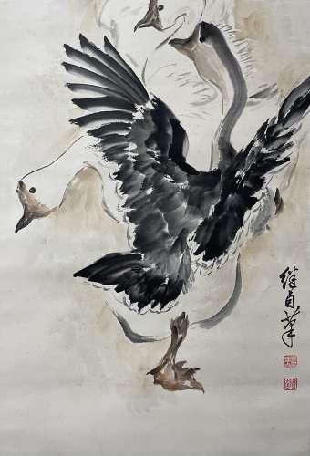 Chinese liu jiyou's painting