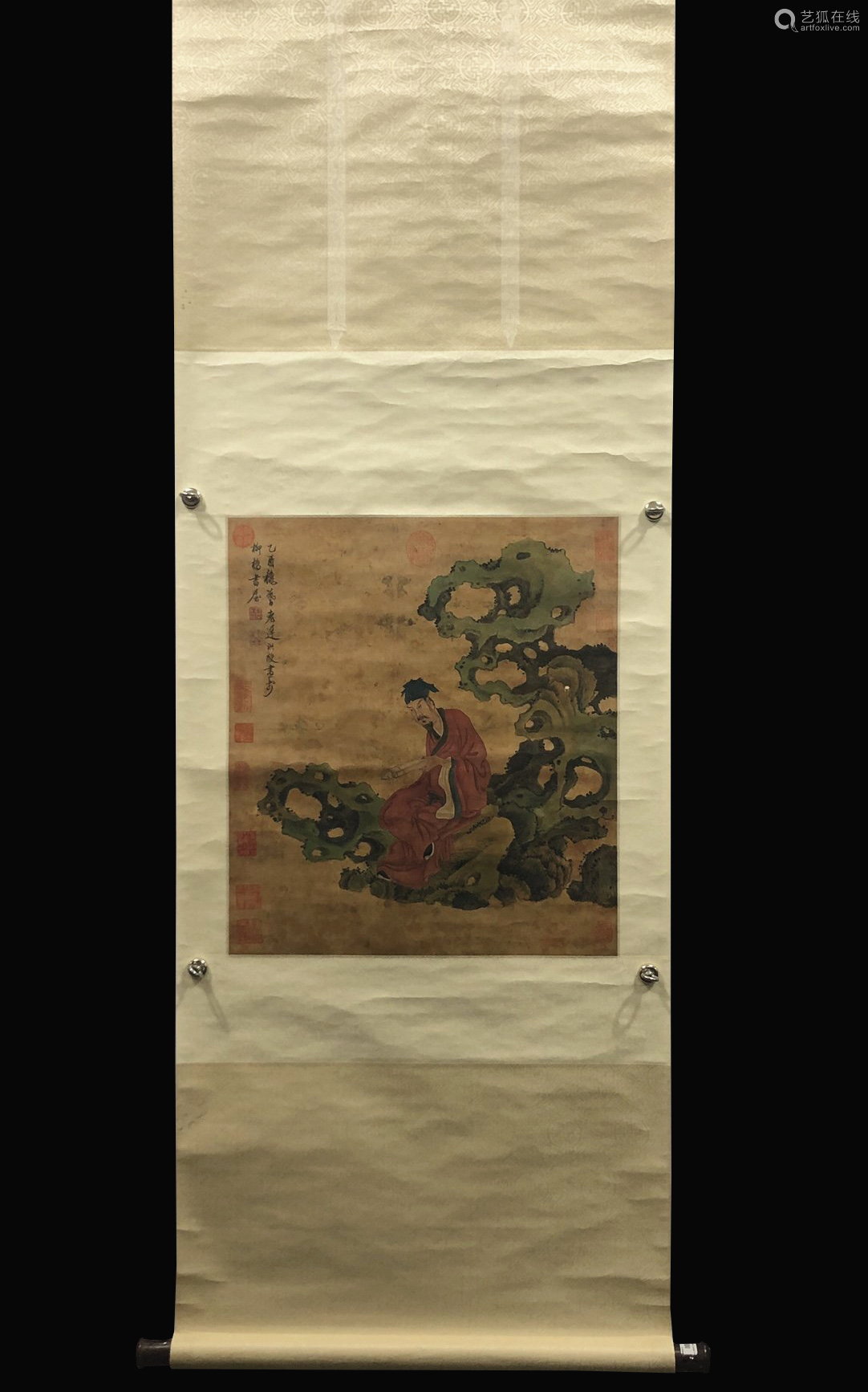 A Chen hongshou's figure painting
