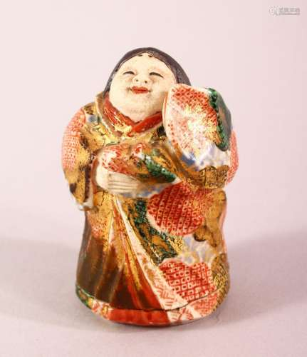 0A JAPANESE MEIJI PERIOD SATSUMA BOX & COVER IN THE FORM...