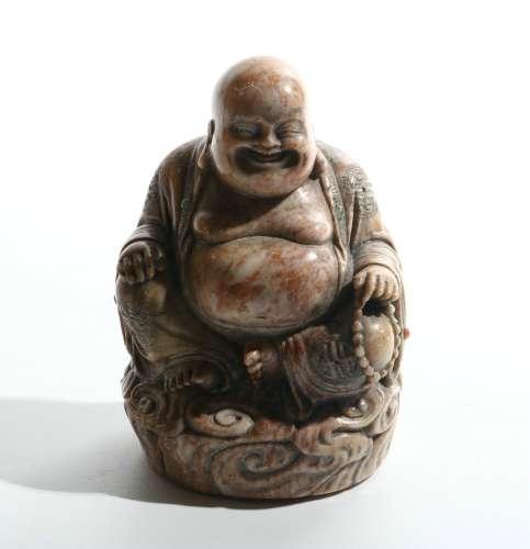 chinese jade maitreya buddha