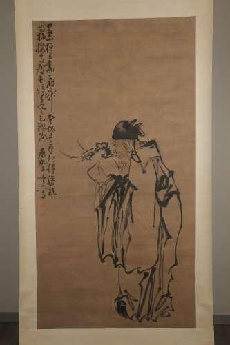 chinese Kang Xinzi's painting