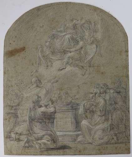 Ecole française du XVIIIème siècle Ascension de la Vierge Pi...