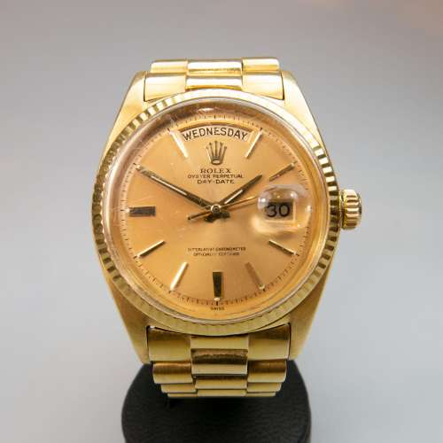 Rolex Oyster Perpetual Day-Date Wristwatch, circa 1962;