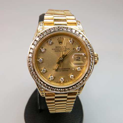 Lady's Rolex Oyster Perpetual Datejust Wristwatch,