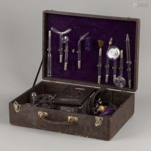A 'Helios' set medical instruments for ultraviolet light the...