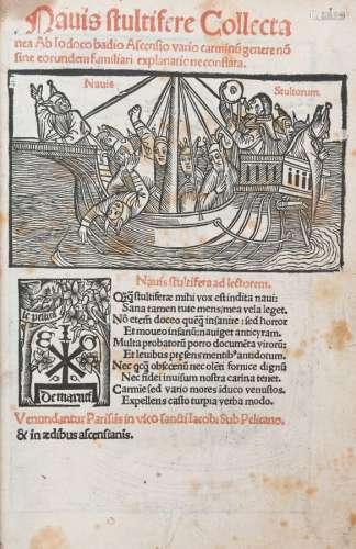 BRANDT (Séb.) - BADIUS (J.). NAVIS STULTIFERE Collectanea ab...