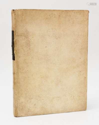 GREGOIRE LE GRAND. LES OMELIES. Paris, Antoine Vérard, 1501....