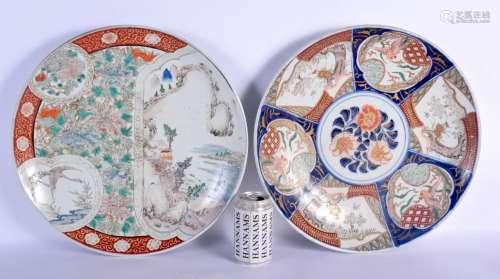 A MATCHED PAIR OF 19TH CENTURY JAPANESE MEIJI PERIOD IMARI C...