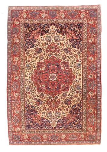 Tapis d'Isfahan, 4'8'' x 7'2''
