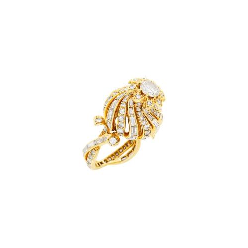 Sterlé Paris Gold and Diamond Ring