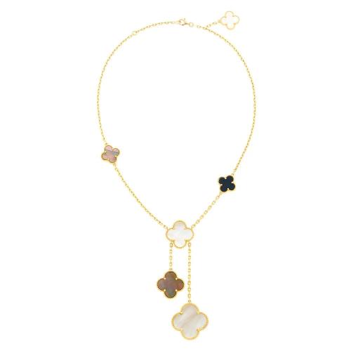 Van Cleef & Arpels Gold, Black Onyx, and