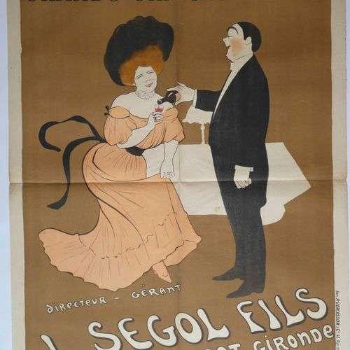 Léonetto CAPPIELLO (1875-1942) « Vins authentiques Grands Ch...
