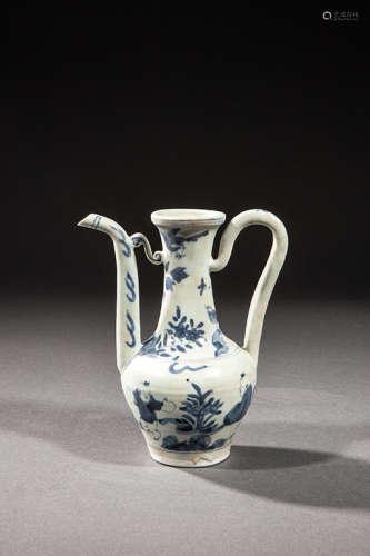 明代青花瓷壶
