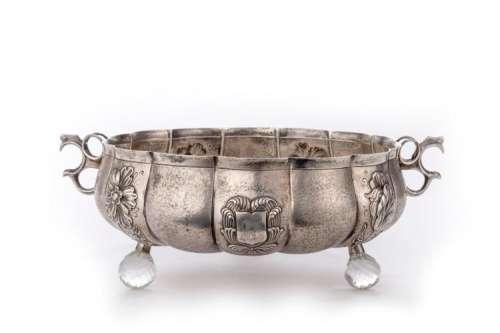 Coupe en argent sterling anglais de Londres probablement de 1826