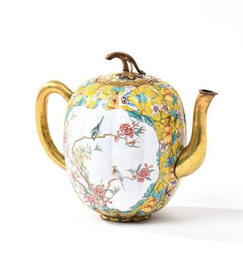 Chine, début XXe siècleThéière reprenant la for...