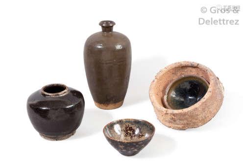 Chine, période Song (XI XIIIème siècle) Deux coup...